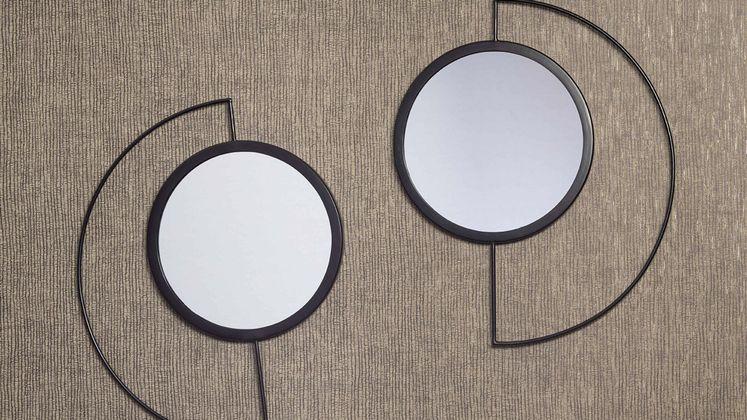 Bodilson Moon Set van 2 Spiegel