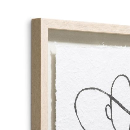 COCO maison Abstract Lady Wanddecoratie