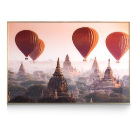 COCO maison Air Balloon Schilderij