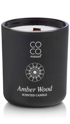 COCO maison Amber Wood Geurkaars