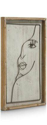 COCO maison Face Schilderij