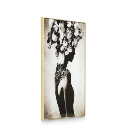 COCO maison Flower Crown Schilderij