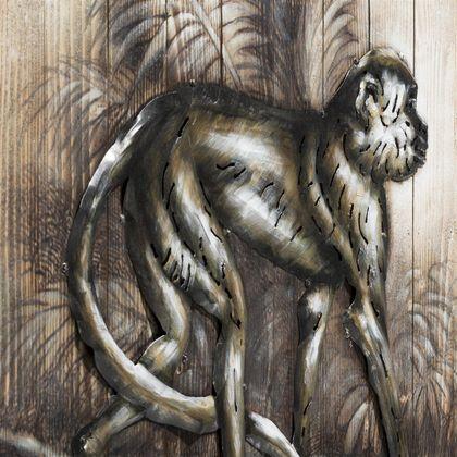 COCO maison Monkey Schilderij