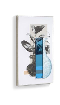 COCO maison Seventies Blue Schilderij