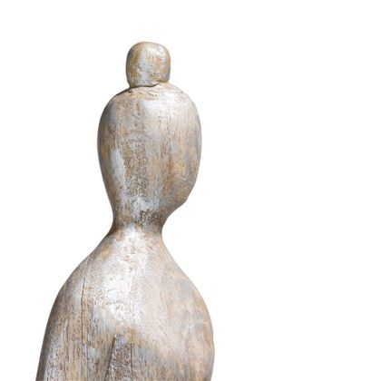 COCO maison Wooden Lady Beeld