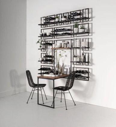 DTP Interiors Shelfmate Black Wandplank