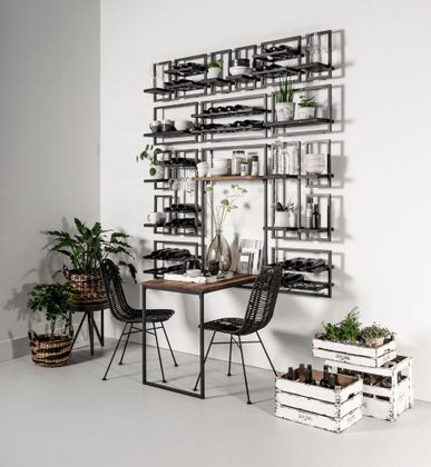 DTP Interiors Shelfmate Black Wijnrek