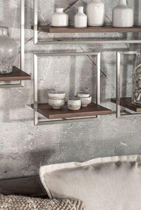 DTP Interiors Shelfmate Walnut Wandplank