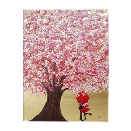 Feelings Flower Couple Wanddecoratie