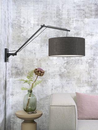 Good&Mojo Andes L Black Wandlamp