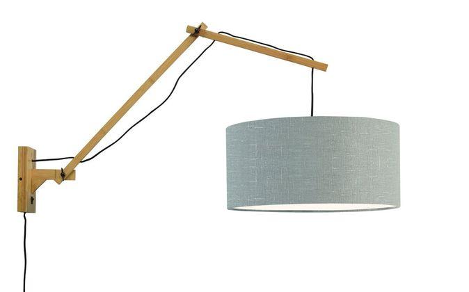 Good&Mojo Andes L Natural Wandlamp