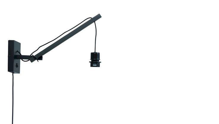 Good&Mojo Andes S Black Wandlamp