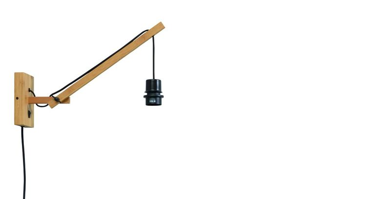Good&Mojo Andes S Natural Wandlamp