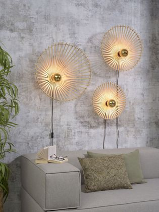 Good&Mojo Bromo Asymmetrical Wandlamp