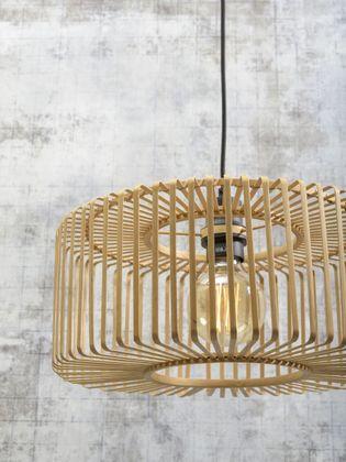 Good&Mojo Bromo Bamboo Natural Wandlamp
