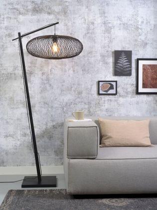 Good&Mojo Cango Black Vloerlamp