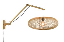 Good&Mojo Cango L Natural Wandlamp