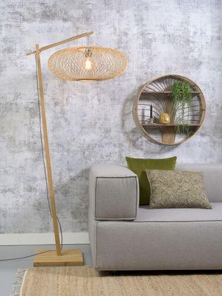 Good&Mojo Cango Natural Vloerlamp