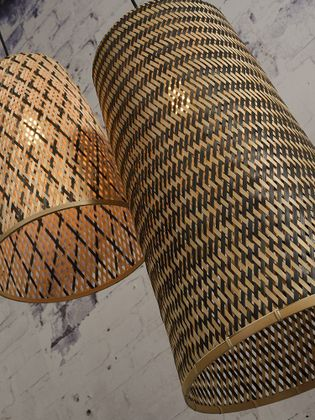 Good&Mojo Kalimantan hoog L Hanglamp