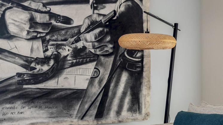 Good&Mojo Palawan Black Vloerlamp