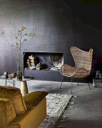 HKliving Egg Chair Bohemian Fauteuil