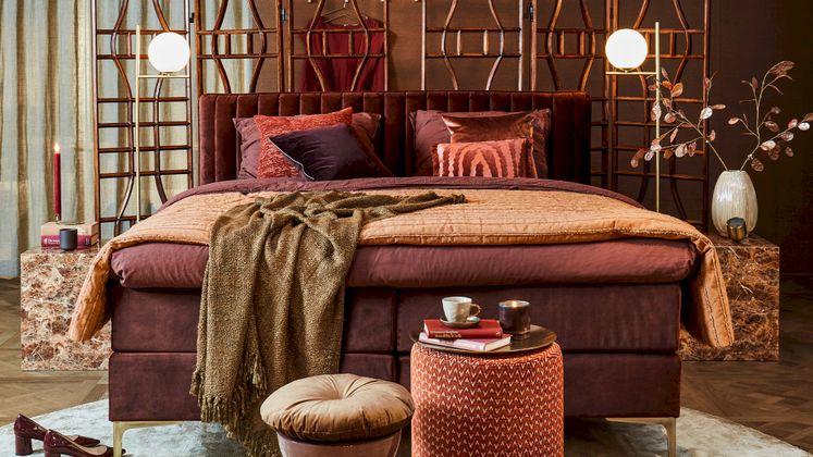 HKliving Striped Bedsprei