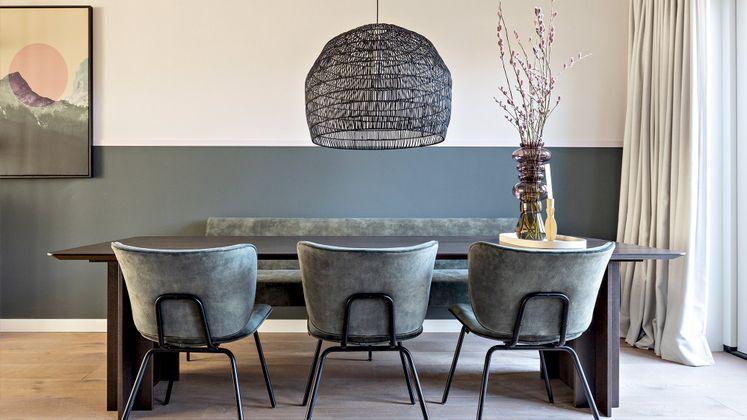 HKliving Wicker Hanglamp