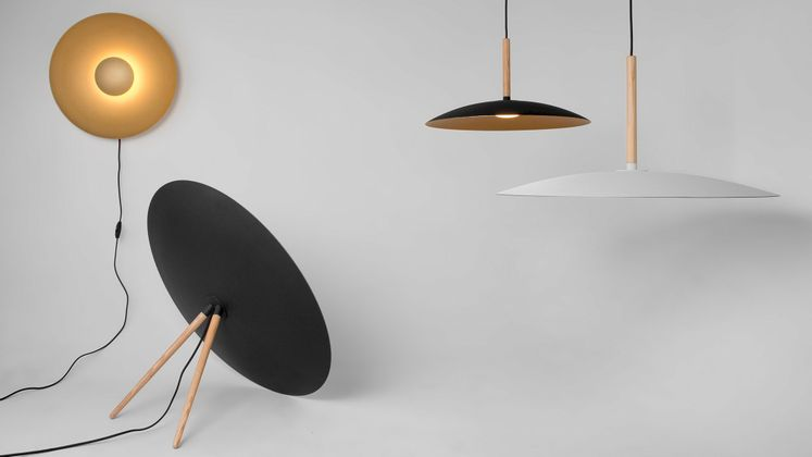 Movani Dish Vloerlamp