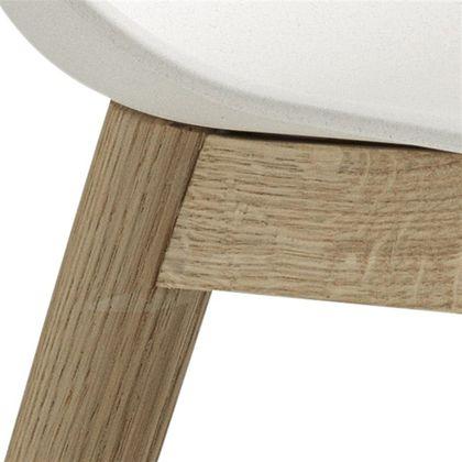 Muuto Fiber Side Wood Eetkamerstoel