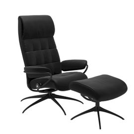 Stressless London High Back + hocker Relaxfauteuil