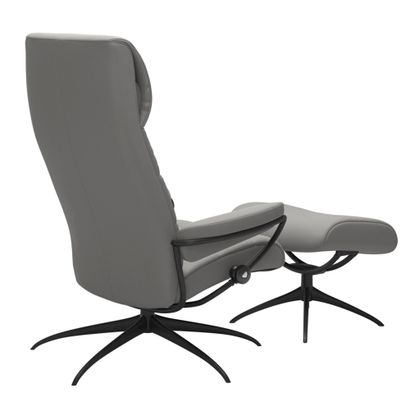 Stressless London High Back Relaxfauteuil+Hocker