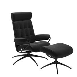 Stressless London Low Back + hocker Relaxfauteuil