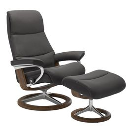 Stressless View Relaxfauteuil+Hocker