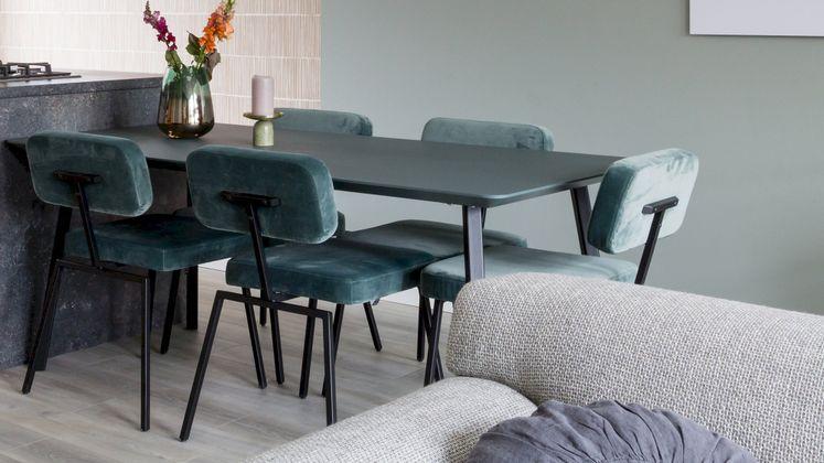 Studio HENK New Classic Black Eettafel