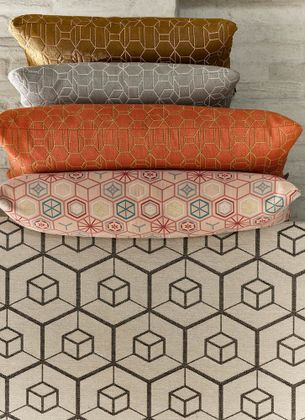 textiles & more Tribe Hexagon Sierkussen