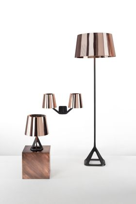 Tom Dixon Base Brass Tafellamp