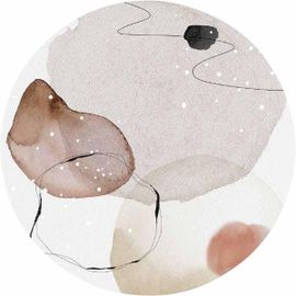Trendhopper Organic Shapes Wanddecoratie