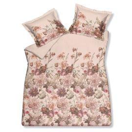 Vandyck Pink Floral Dekbedovertrek