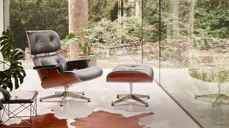 Vitra Eames Lounge Chair & Ottoman Fauteuil