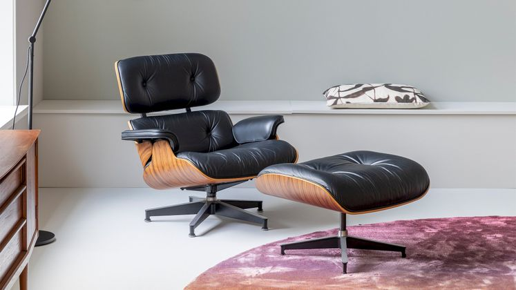 Vitra Eames Lounge Chair Fauteuil & Hocker