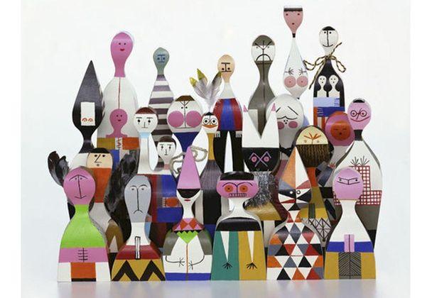 Vitra Wooden Dolls 12 Pop