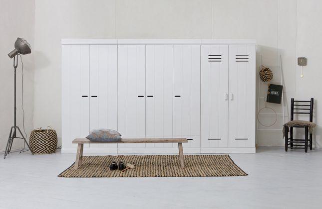 WOOOD Connect 3-deurs Opbergkast