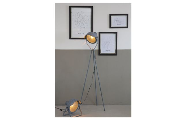 WOOOD Lester Vloerlamp