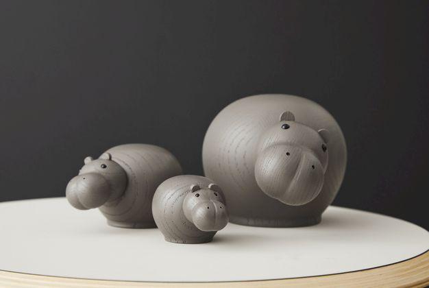 WOUD Hibo Nijlpaard Small Decoratie