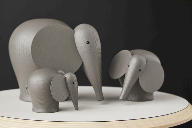 WOUD Nunu Olifant Small Decoratie
