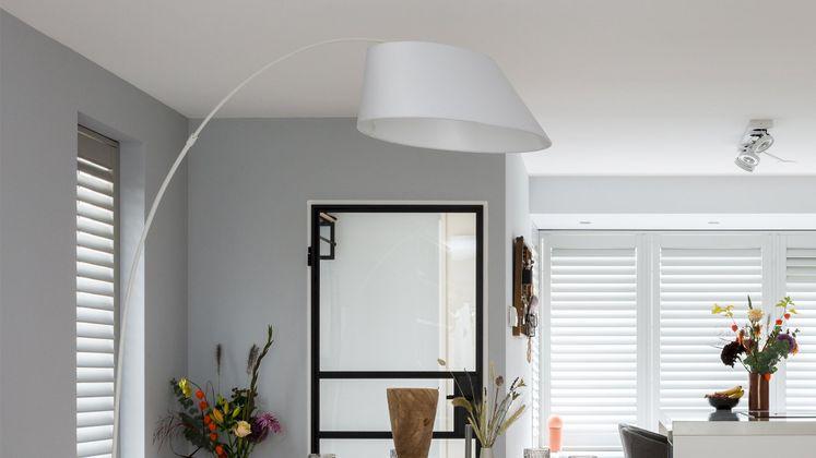 Zuiver Arc Vloerlamp